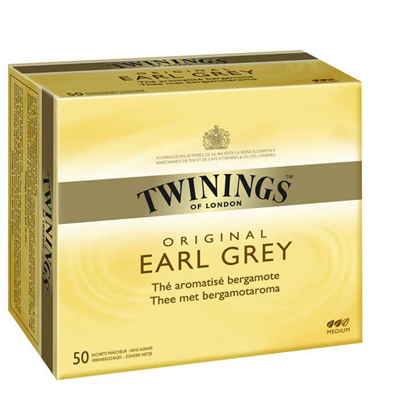 The earl grey 50 sachets twinings 1