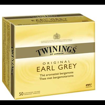 The earl grey 50 sachets twinings