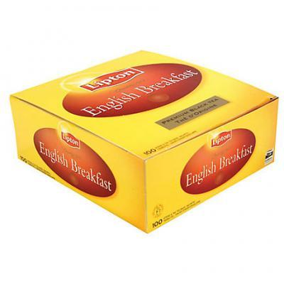 The english breakfast 100 sachets lipton cevennes terroir colis gastronomiques