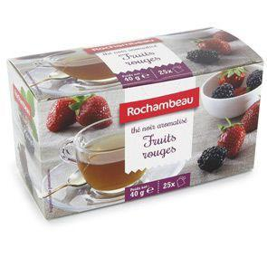 The fruits rouges 25 sachets 50 g rochambeau pour professionnels
