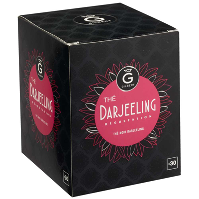 The noir darjeeling 30 sachets gilbert