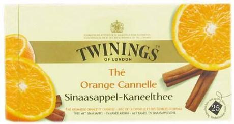 The orange cannelle 25 sachets pour bureau