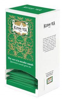 The vert a la menthe nanah 25 sachets de 55 g kusmi tea