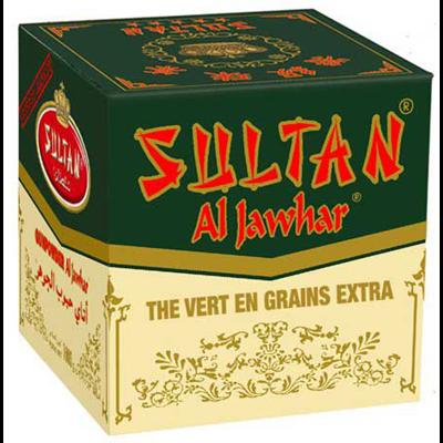The vert en grains al jawhar 200 g sultan