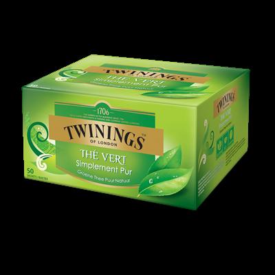 The vert simplement pur 50 sachets twinnings
