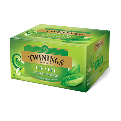 The vert simplement pur 50 sachets twinnings