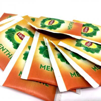 Thes parfumes sachets enveloppes lipton le lot de 20