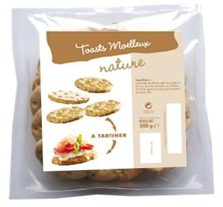 Toasts moelleux nature suedois 200 g panorient