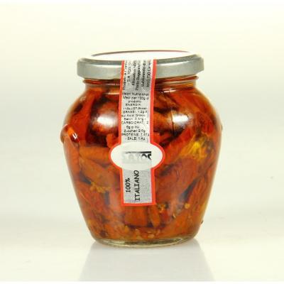 Tomates sechees marinees a l huile satos 314ml