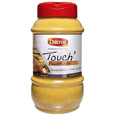 Touch poulet roti 650 g ducros 1