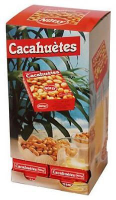 Tour de distribution cacahuetes 48 x 40 g cevennes terroir colis gastronomiques