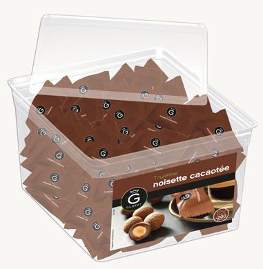 Truffines noisette cacaotee 700 g gilbert
