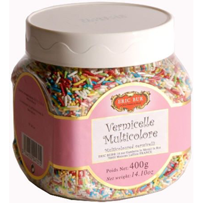 Vermicelles multicolores Eric Bur 400 G