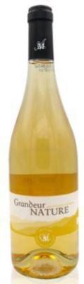 Vin blanc des cevennes grandeur nature blanc bio 75cl cave massillargues attuech