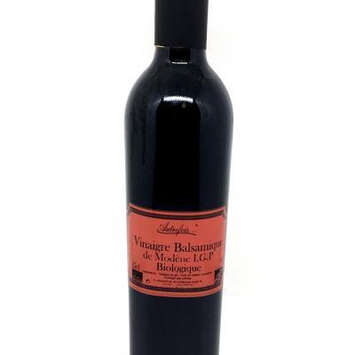 Vinaigre balsamique de modene 25cl autrefois terroir milhaud gard