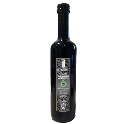 Vinaigre balsamique noir bouteille ronde il torrione 500 ml