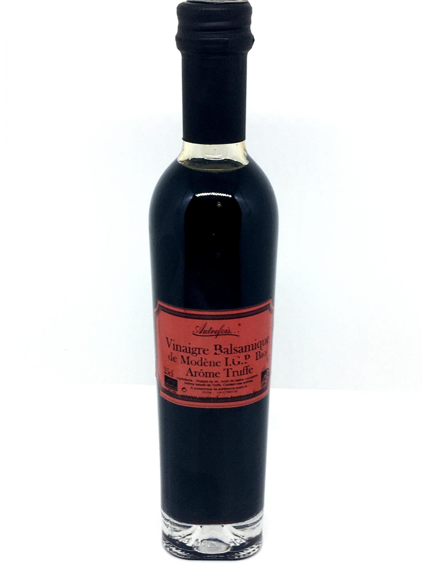 Vinaigre balsamique truffe 25cl autrefois terroir milhaud gard
