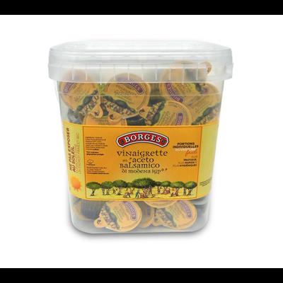 Vinaigrette huile d olive huile de colza 72 x 20 ml borges