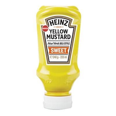 Yellow mustard sweet heinz 220 ml